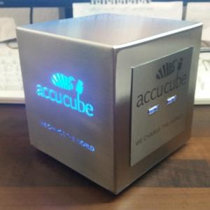 Cube Ausführung Edelstahl