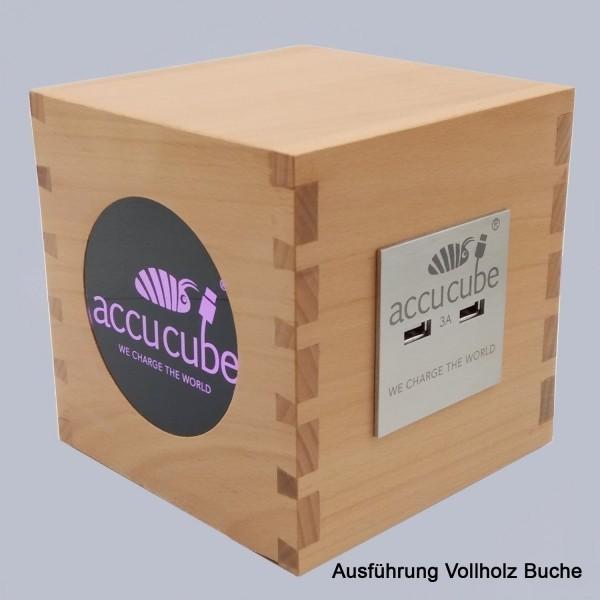 Cube Ausführung Vollholz Buche