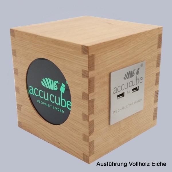 Cube Ausführung Vollholz Eiche