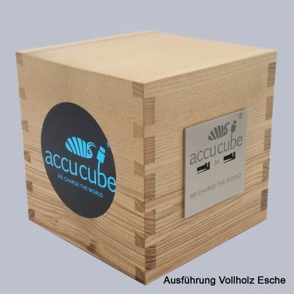 Cube Ausführung Vollholz Esche
