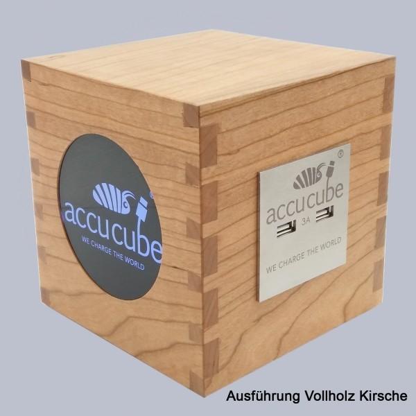 Cube Ausführung Vollholz Kirsche