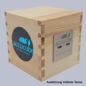 Cube Ausführung Vollholz Tanne