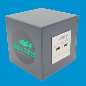 Cube Ausführung Kunststoff anthrazitgrau ähnlich RAL 7016