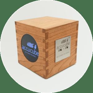Cube Vollholz Werbebild